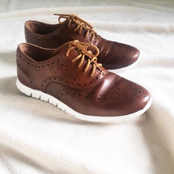 c6dd8bd74a82 Cole Haan Shoes - Cole Haan Women s Zerogrand Wingtip Oxfords